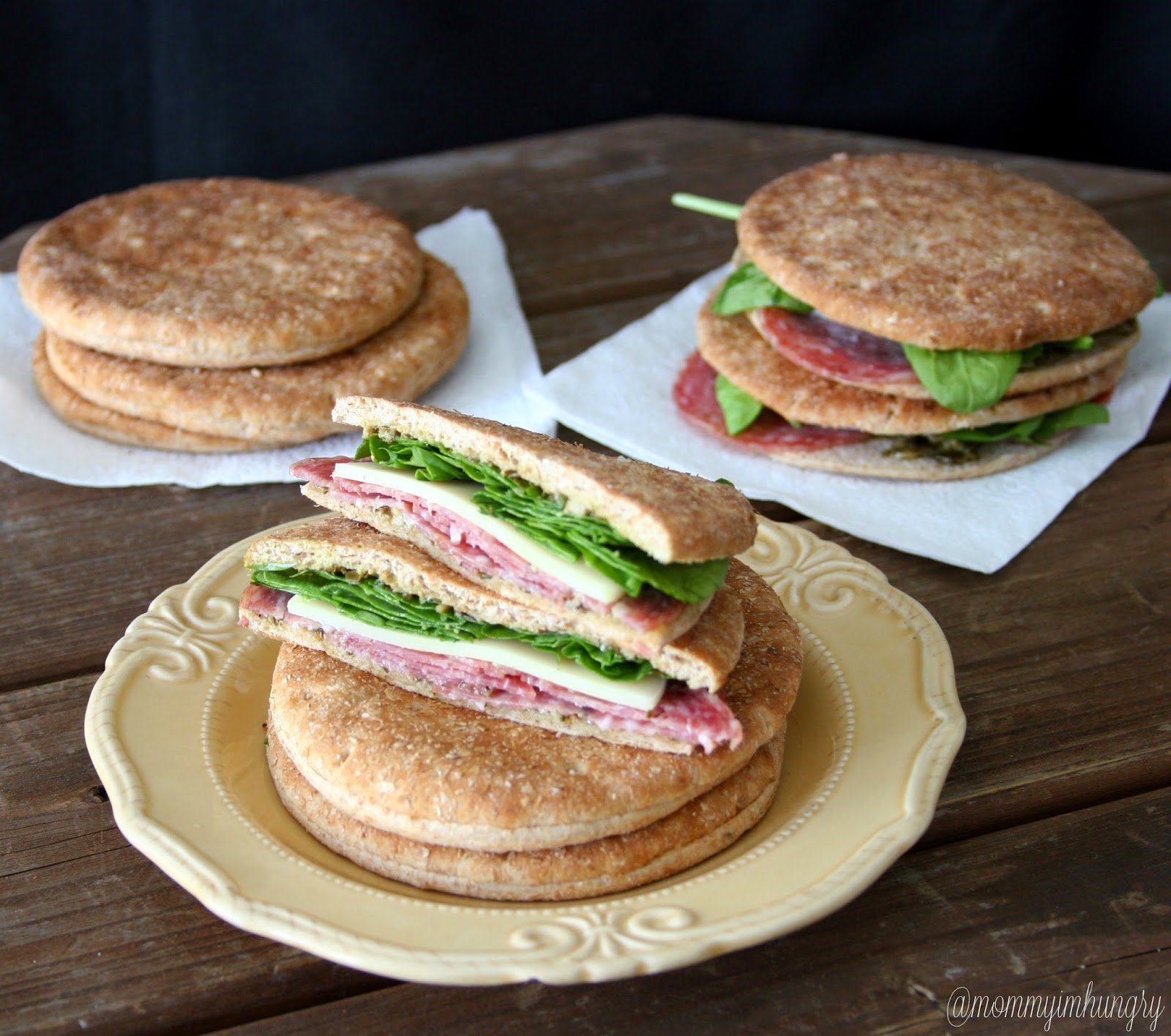 sandwich with oroweat: honey, walnut and brie with avocado and arugula ...
