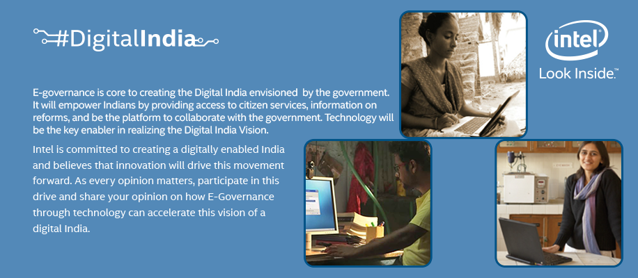 Intel's collaboration with Government of India in #DigitalIndia mission