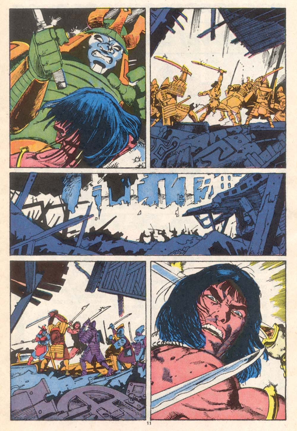 Conan the Barbarian (1970) Issue #206 #218 - English 10