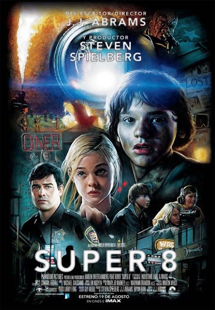 Cartel de cine Super 8