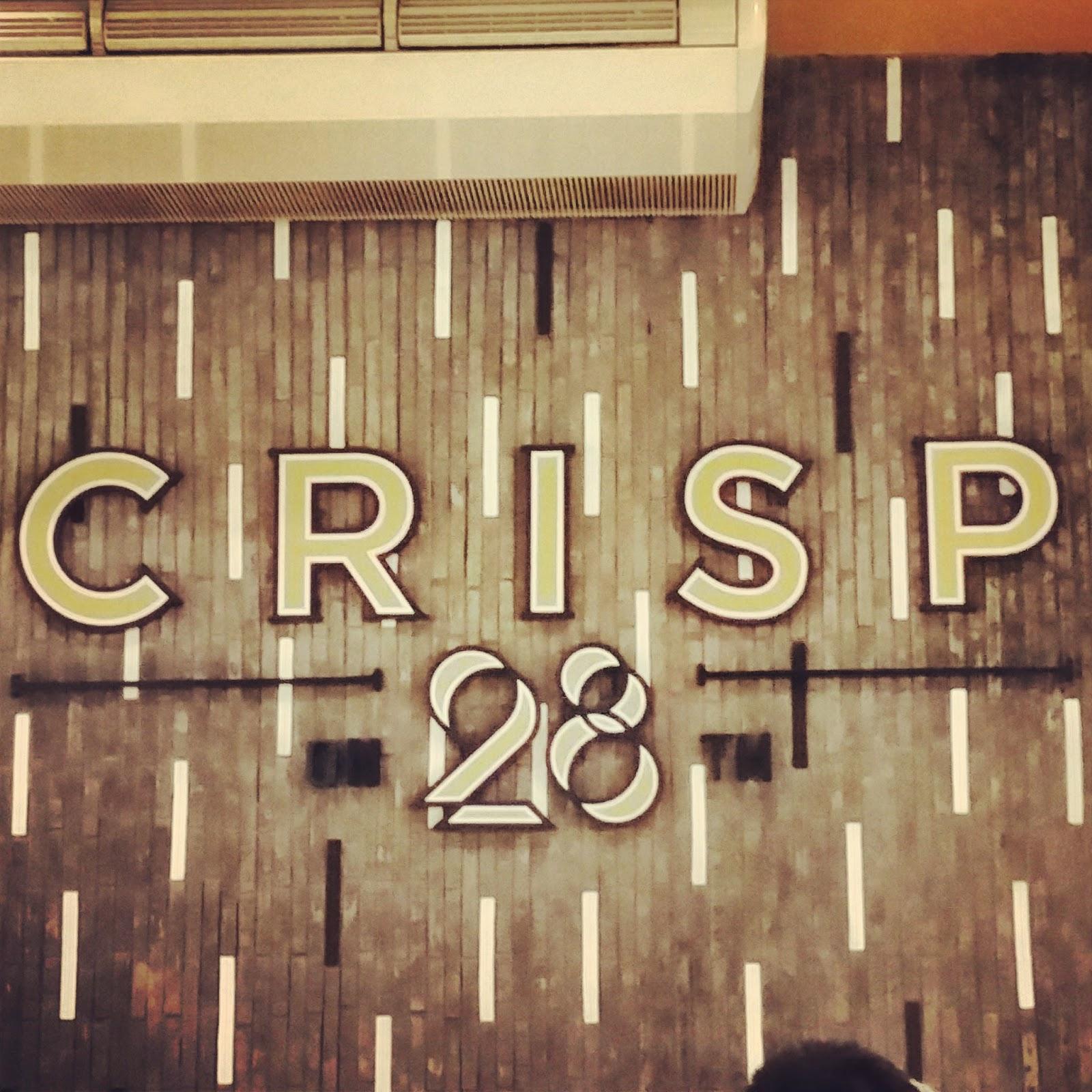 crisp on 28th