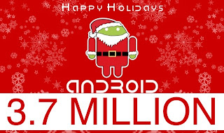 Android reaches 3.7 million