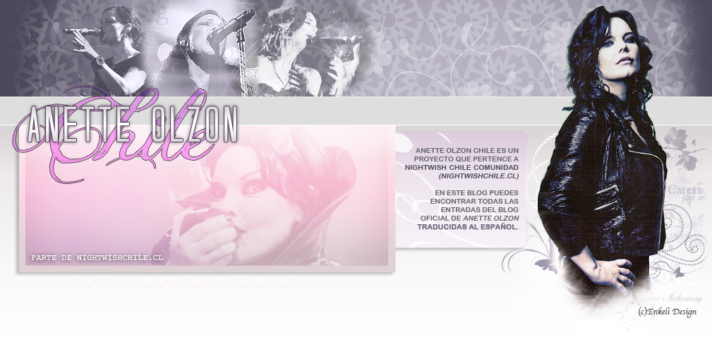 Anette Olzon Chile
