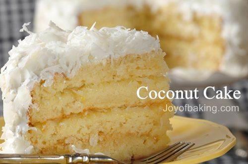 Italian Cream Cake Without Coconut