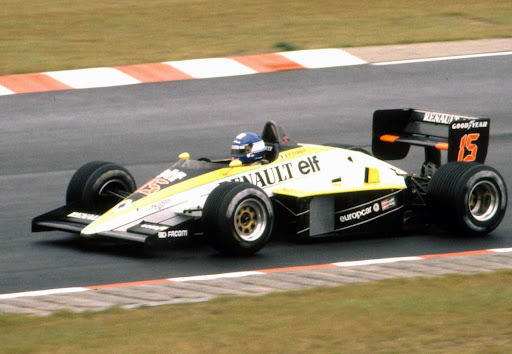 Renault F1, equipe histórica de Formula 1 de 1985 - by bp.blogspot.com