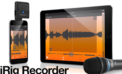 تطبيق تسجيل وتحرير الصوت iRig Recorder لنظام آندرويد