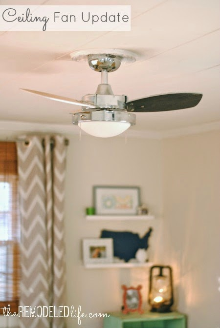The Remodeled Life: Updating The Ceiling Fan