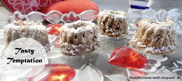 Rezept Beschwipste Schokoladen-Marzipan Mini-Gugl