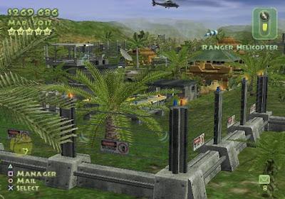 侏儸紀公園之恐龍樂園硬碟綠色免安裝版+遊戲密技下載,經典模擬經營遊戲!