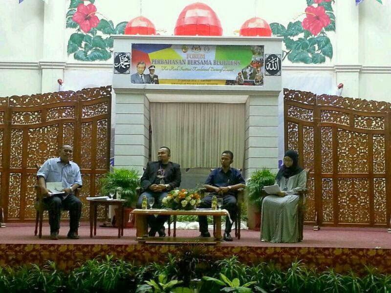 Forum Perbahasan Bersama Bloggers berkenaan Konsep Penjara Sejahtera, Jabatan Penjara Malaysia. Hubungan pemulihan banduan dan peranan masyarakat.