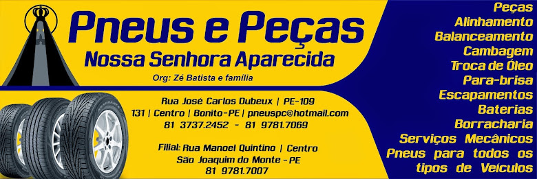 Lojas em Bonito e São Joaquim do Monte