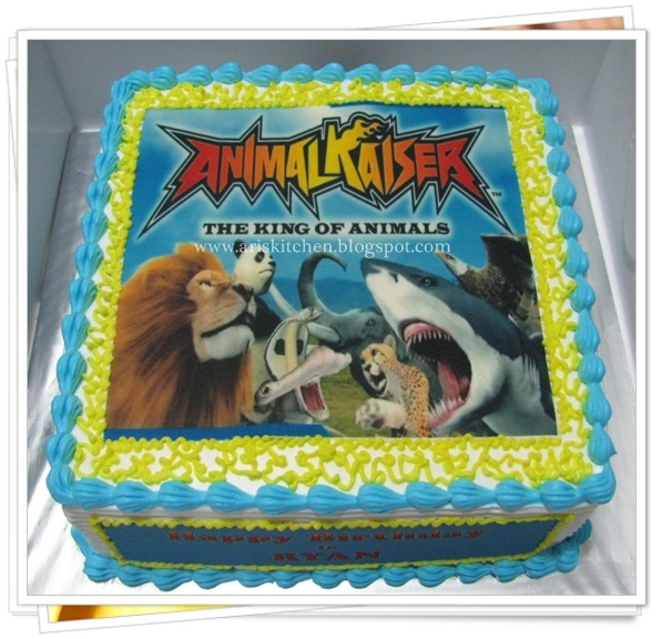 dAngel Cakes Animal Kaiser Cake