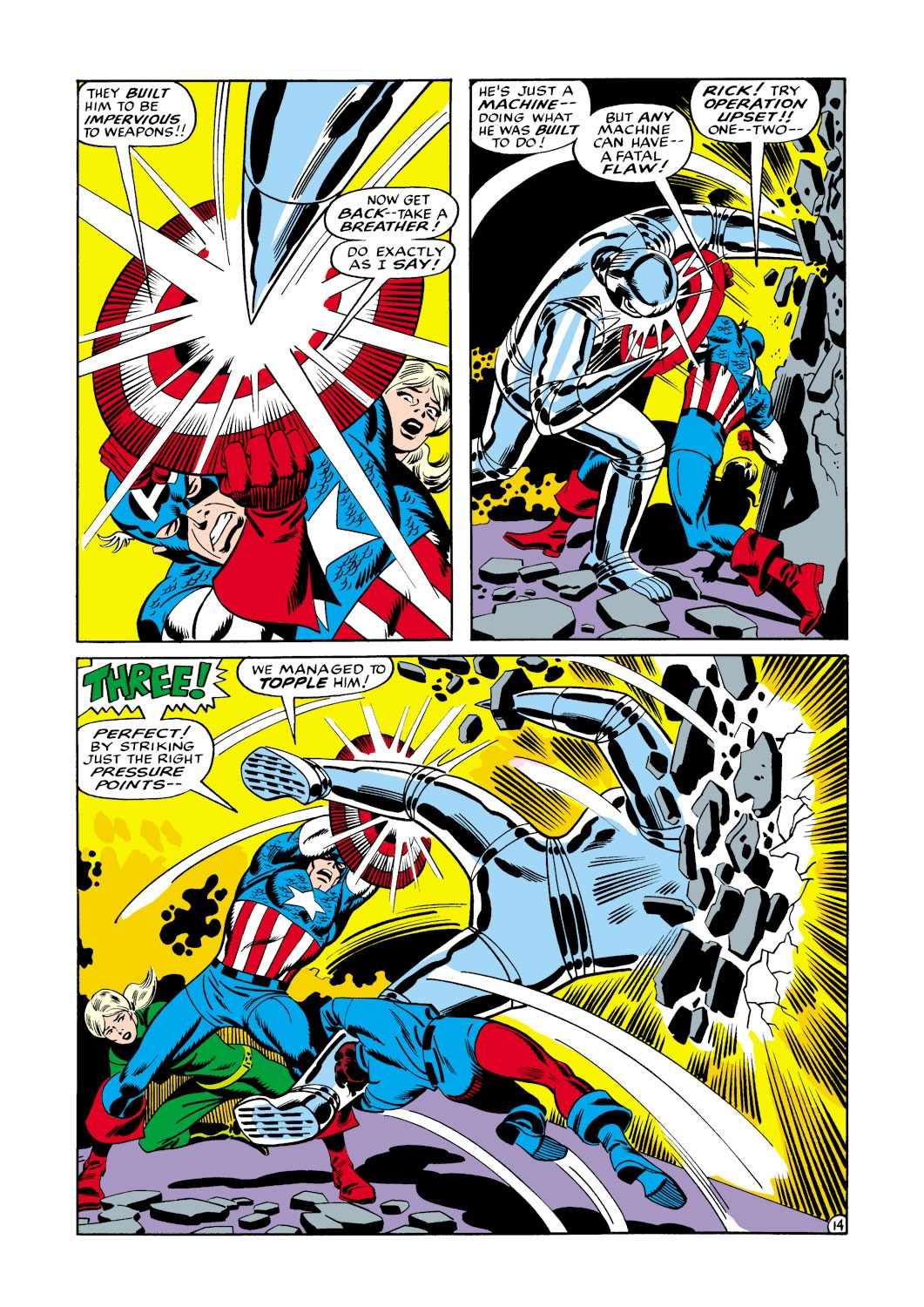 Captain America (1968) Issue #114 #28 - English 15