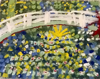 Art Intertwine - Monet Impressionist Bridge