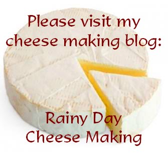 Rainy Day Cheese Making
