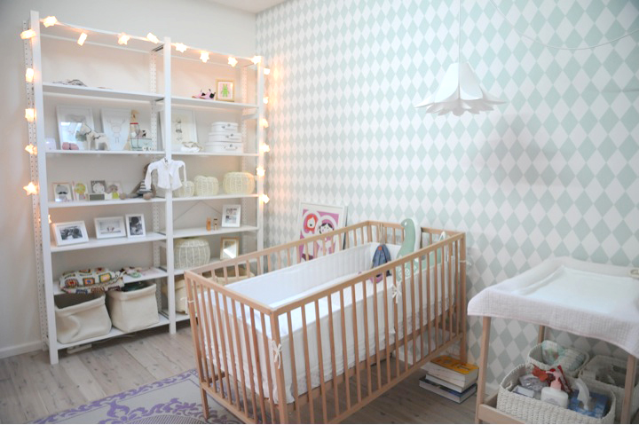 Wallpaper Baby Room Pinterest