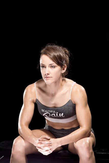Portretowa fotografia sportowa. Portret sportowca. Miss Crossfit. fot. Łukasz Cyrus, Katowice