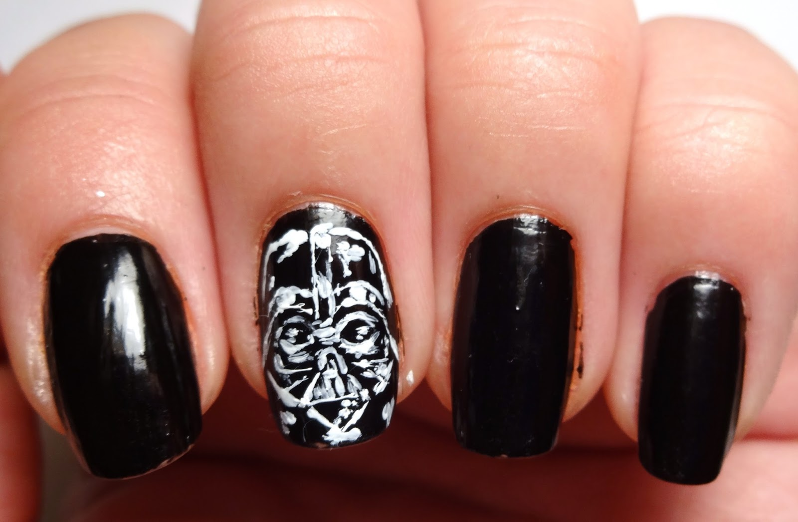 Darth Vader Nail | Best Nail Designs 2018