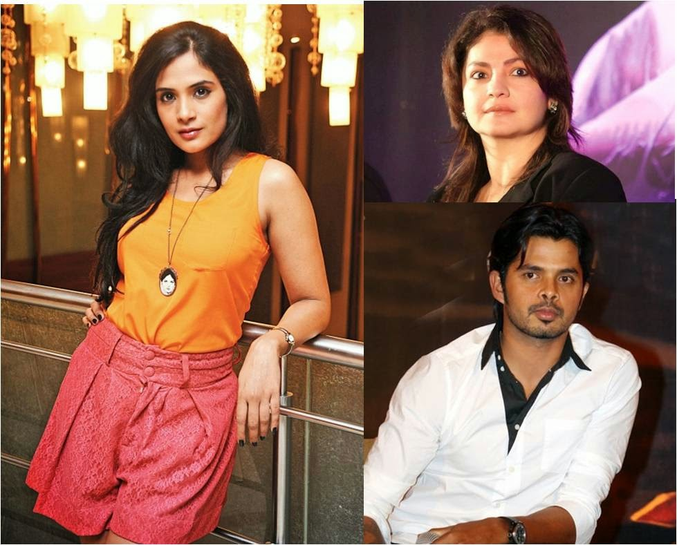 Bollywood movie Cabaret: Producer Pooja Bhatt and actors Richa and Sreesanth