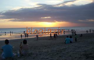 sunset-pantai-kuta-bloglazir.blogspot.com