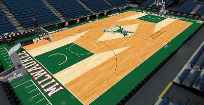 NBA 2K14 Milwaukee Bucks Mecca Court HD