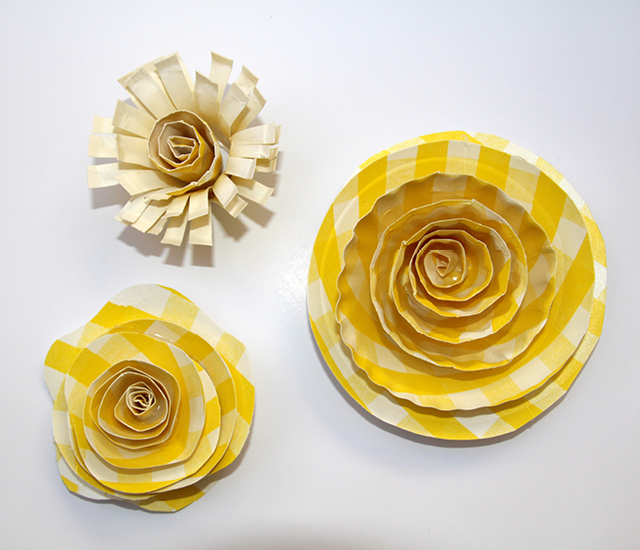 arts and crafts paper plates