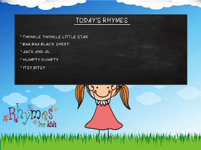 Rhymes For Kids - Android app by www.pkdroid.com