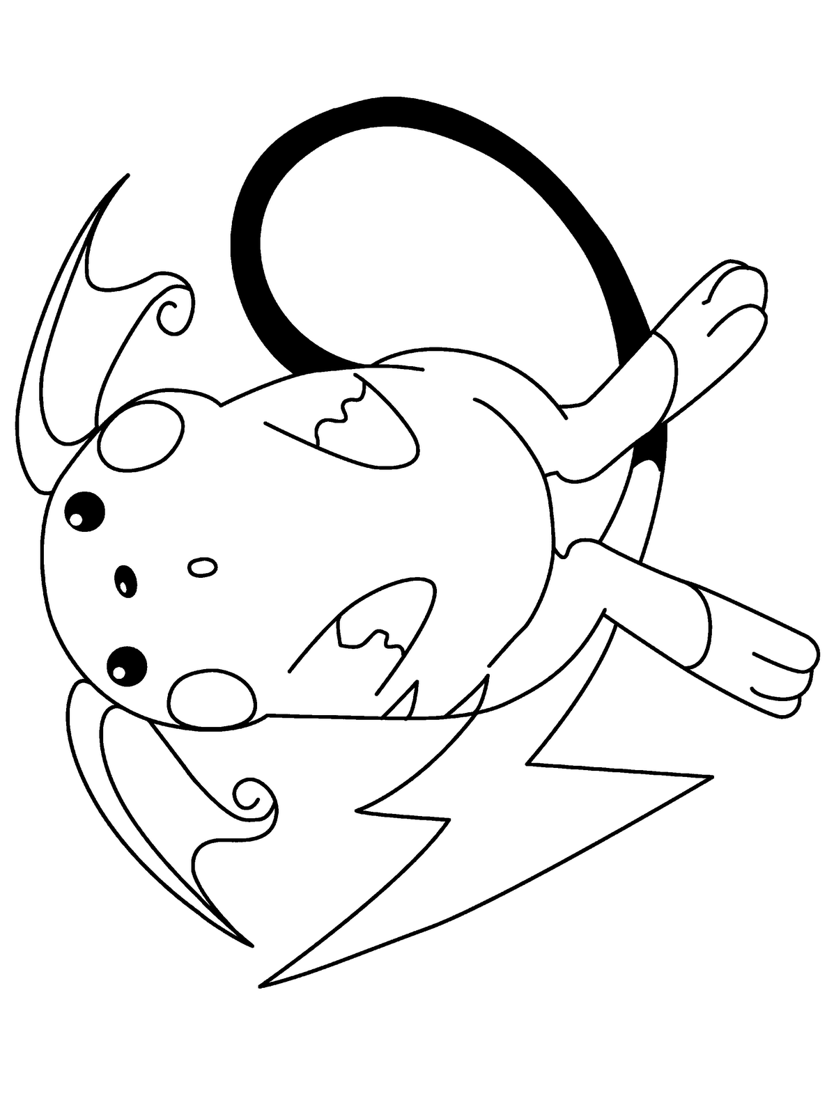 pokemon butter free coloring pages - photo#18