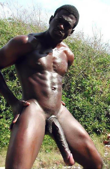 Nude African Men In Africa