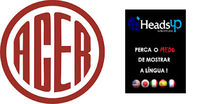 Escola Headsup Idiomas  tem convênio com o Clube A.C.E.R