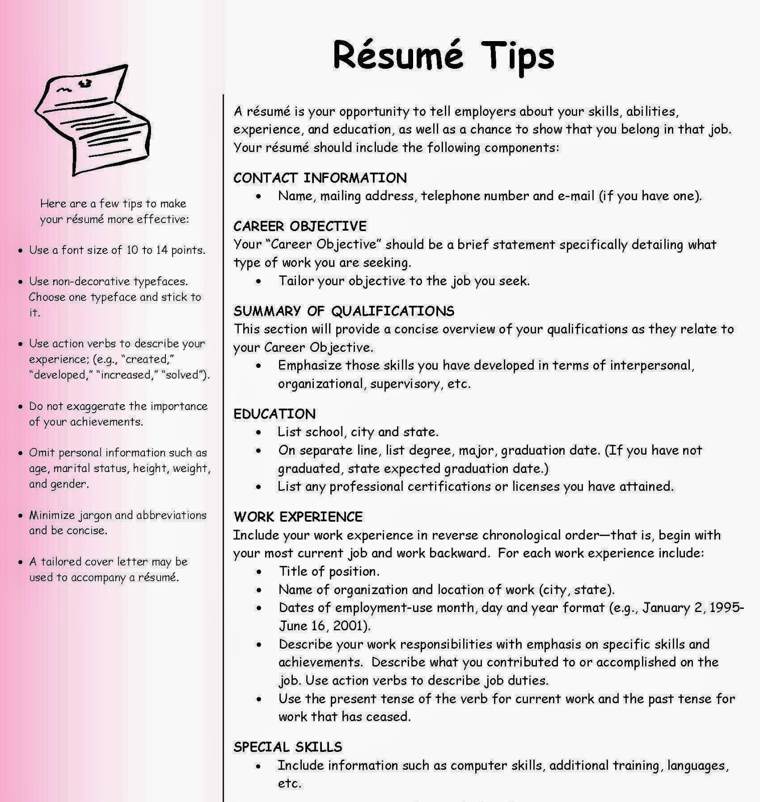 Tips To Create Good Resume