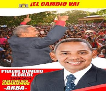 PRAEDE OLIVERO FELIZ ALCALDE DE BARAHONA