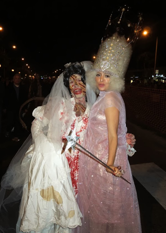 Zombie Bride Glinda costumes West Hollywood 2013