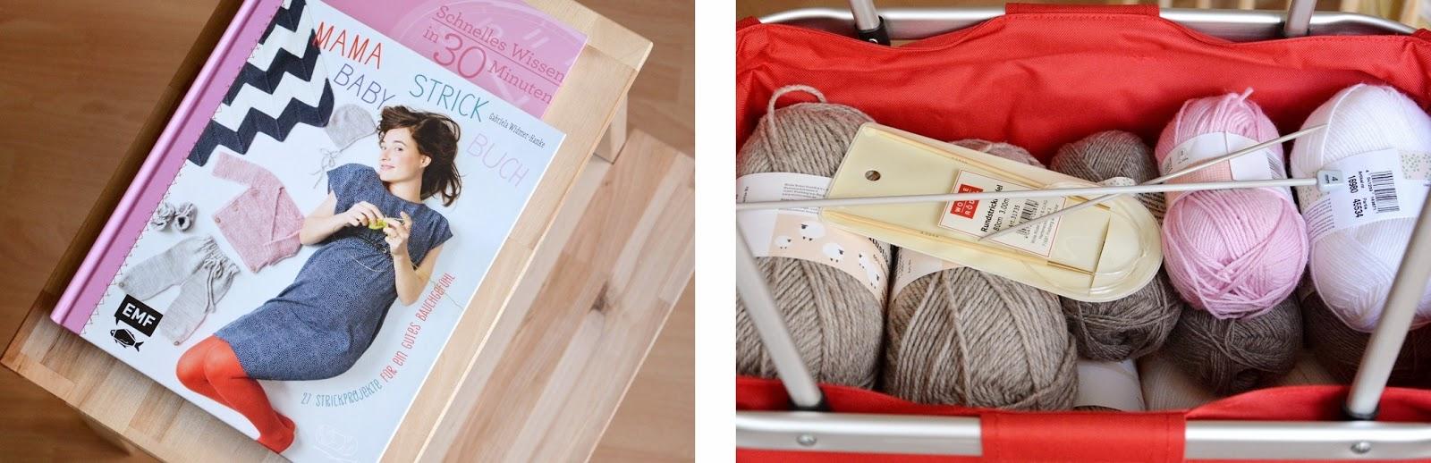 Knitting for a baby, Stricken für das Baby, Knit clothes, Books about knitting, Bücher über Stricken, Stricken für Babys Buch