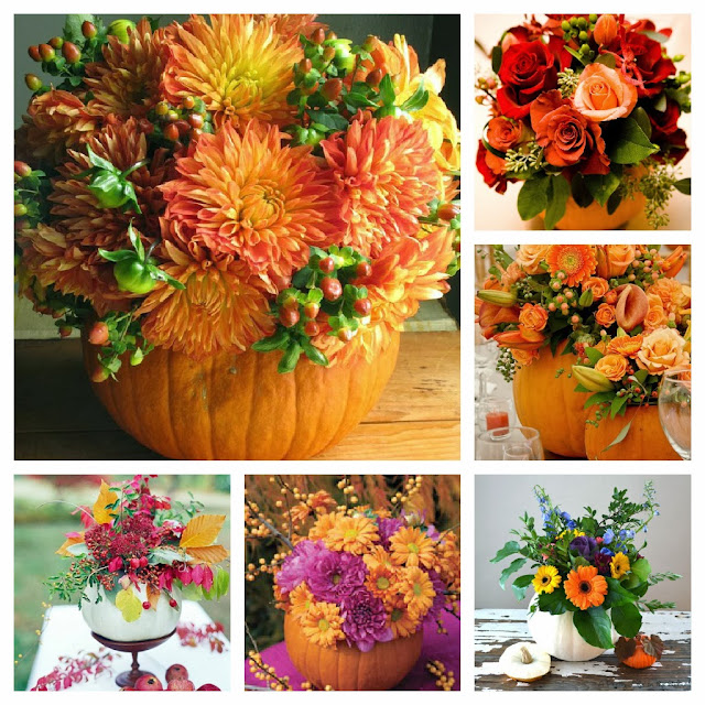 Amazing Pumpkin Flower Pot Ideas