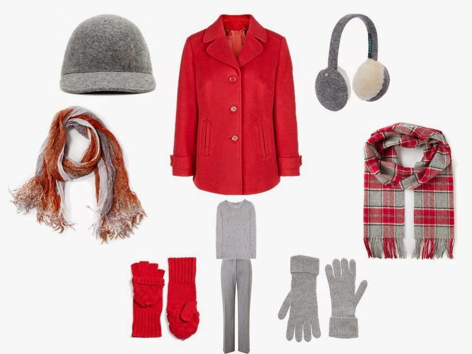 How to Wear a Red Coat in a Capsule Wardrobe | The Vivienne Files