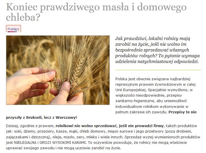 http://stressfree.pl/koniec-prawdziwego-masla-i-domowego-chleba/