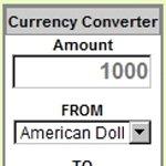 通貨レート計算機ブログパーツ