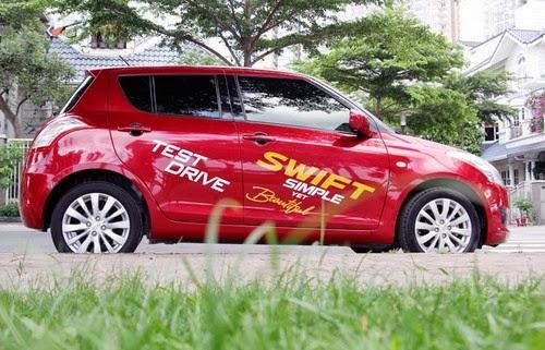 Suzuki Swift - đối thủ Toyota Yaris