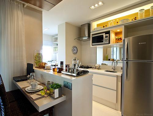 decoracao cozinha nichos:Cozinha De Apartamento