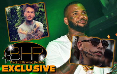 Rapper Stitches Signs Contract To Settle His Beef With The Game In A Celebrity Boxing Match