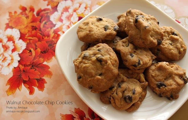 核桃巧克力豆饼干