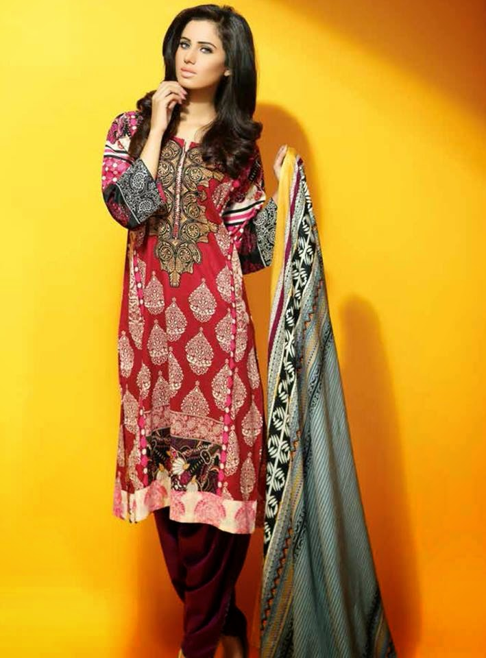 Latest Libas lawn collection 2015