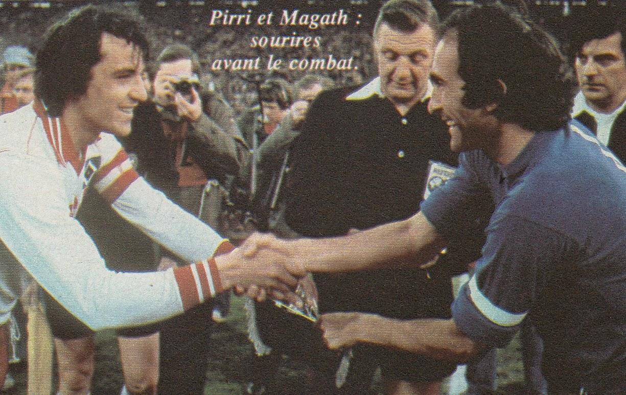 Kaptanlar Magath ile Pirri maç öncesinde
