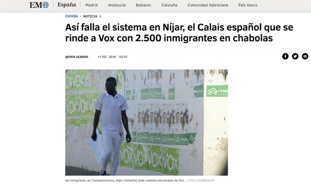 Níjar y El Ejido: atando cabos (VIDEO)