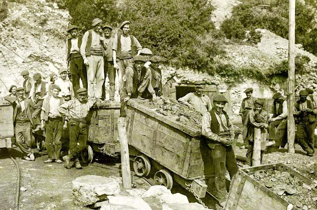 mineros figols las minas castillo olano sant corneli consolacio carbones de berga