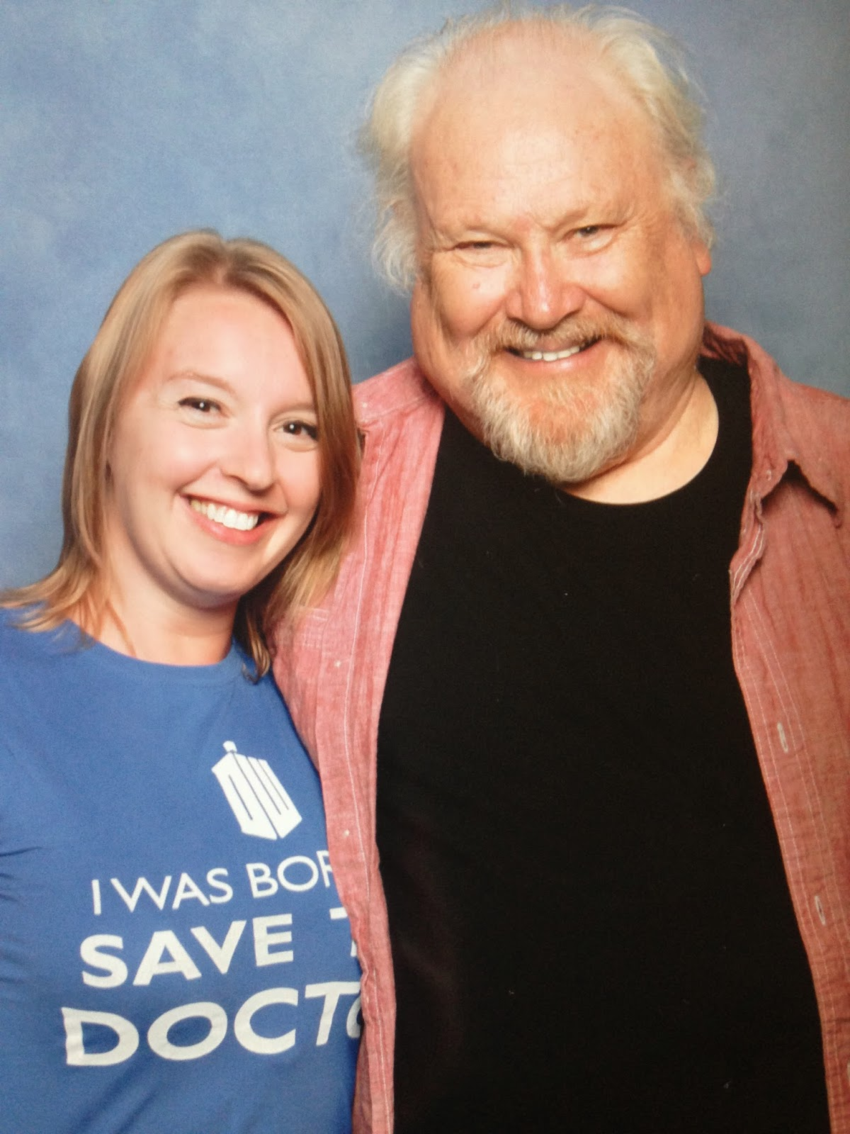 London film and comic con 2014 Colin Baker