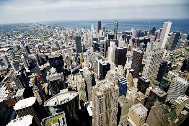 Rascacielos de Chicago desde la Willis Tower