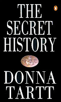 Book cover of The Secret History by Donna Tartt