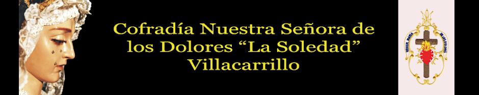 """Cofradía Nuestra Señora de los Dolores """"La Soledad"""" de Villacarrillo"""